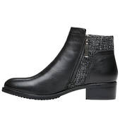 Propet  Black WFX035L Taneka Ankle Boot in a WD and 2E Width