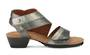 Walking Cradle Calista Pewter Sandal in a W and WW Width