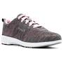 Propet Washable Walker Evolution Pink and Light Grey Walking Shoe WCS012M in a WD