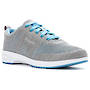 Propet Washable Walker Evolution Blue and Light Grey Walking Shoe WCS012M in a WD and 2E