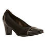 Walking Cradle Regent Black High Heel in a W and WW Width