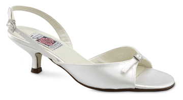 Elle wide width bridal and wedding shoes at Shoe Talk NZ
