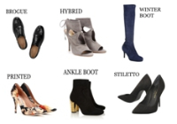 Dictionary of shoes styles