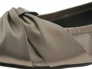 Hard Rock pewter wide fitting dress flats at Shoe Talk NZ