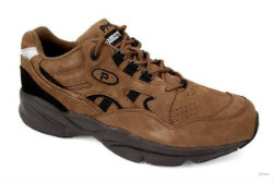 Propet choco nubuck men's walking shoes online at Shoe Talk NZ